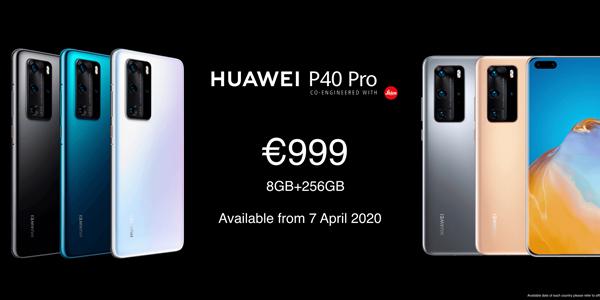 ¿Cuánto cuestan los nuevos Huawei P40?
