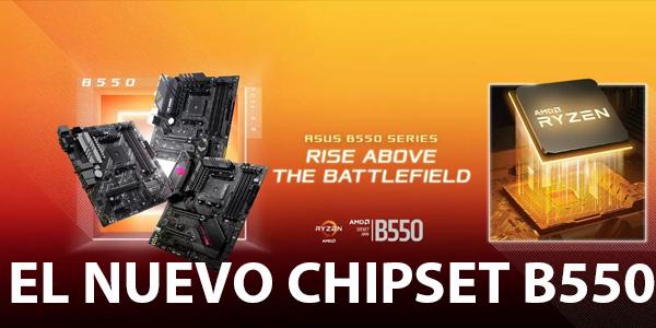 El nuevo chipset AMD B550 EXPLICADO!