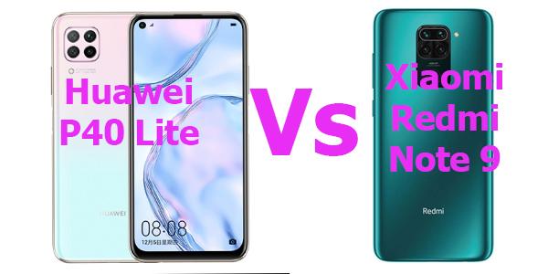 Huawei P40 Lite Vs Xiaomi Redmi Note 9