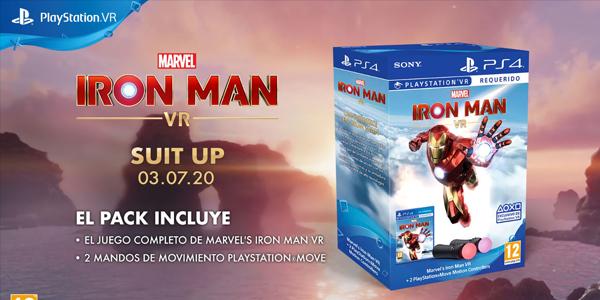 Marvel's Iron Man VR – disponible 3 de julio
