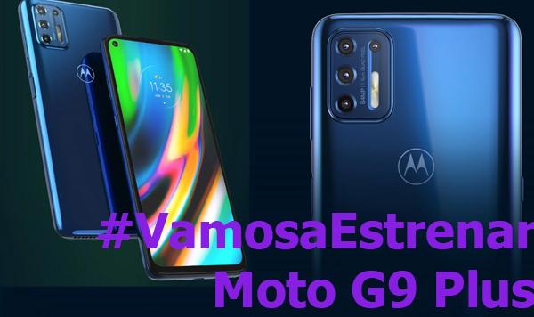 #VamosaEstrenar MotoG9 Plus