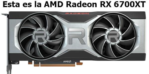 Esta es la nueva AMD Radeon RX 6700XT