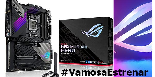#VamosaEstrenar ASUS ROG Maximus XIII Hero – Z590